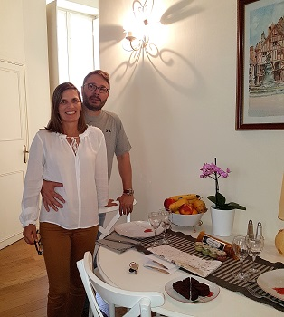 Gisele and Jeffrey (My Home in Dijon, Septembre 2018)