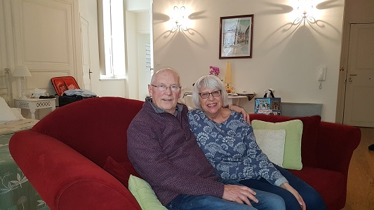 Roger and Janice Watson (Backwell, Bristol, England, March 2018)
